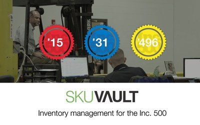 SkuVault Helps 12% of the Inc. 500 Fastest-Growing Retail Companies in America Manage Their