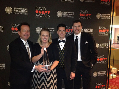 Heart+Mind Strategies and R&R Partners Wins Ogilvy Gold. (PRNewsFoto/Heart+Mind Strategies) (PRNewsFoto/HEART+MIND STRATEGIES)