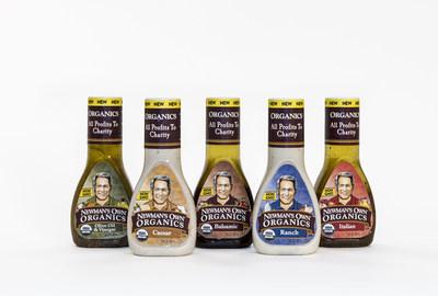 Newman's Own Organics Salad Dressings