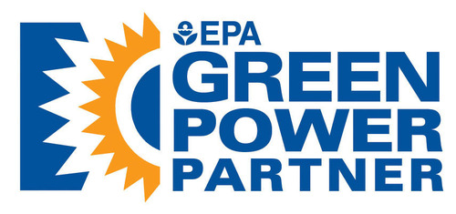 EPA Green Power Partner Logo.  (PRNewsFoto/The Tower Companies)