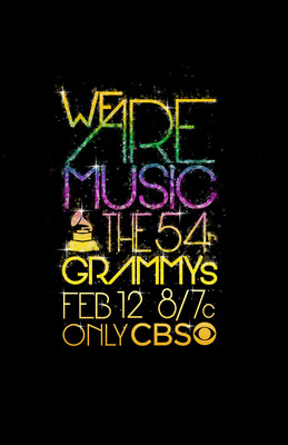 54th Annual GRAMMY Awards.  (PRNewsFoto/The Recording Academy)