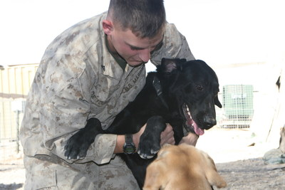 Victory for Military Working Dogs and Veterans! For first time, newly passed 2016 National Defense Authorization Act with language supported by American Humane Association guarantees return of retired military war dogs to U.S. soil and gives former handlers first right of adoption.