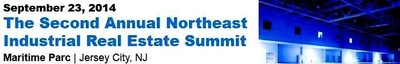 The Second Annual Northeast Industrial Real Estate Summit is New Jersey and Pennsylvania's only full-day CRE event in the fall of 2014 focused exclusively on industrial development and investment activities. The conference will feature 50 speakers in 10 panel discussions and 400+ are expected to attend, including: the leading industrial real estate developers, investors, equity sources, debt sources, logistics executives and tenants from the northeast and around the nation. (PRNewsFoto/CAPRATE Events LLC)