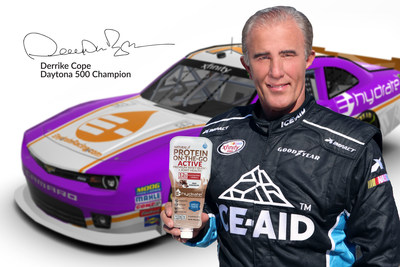 Derrike Fuels with Protein On-the-Go