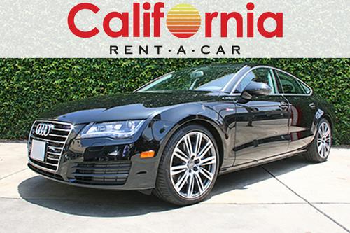 Audi A7 California Rent A Car. (PRNewsFoto/California Rent-A-Car) (PRNewsFoto/CALIFORNIA RENT-A-CAR)