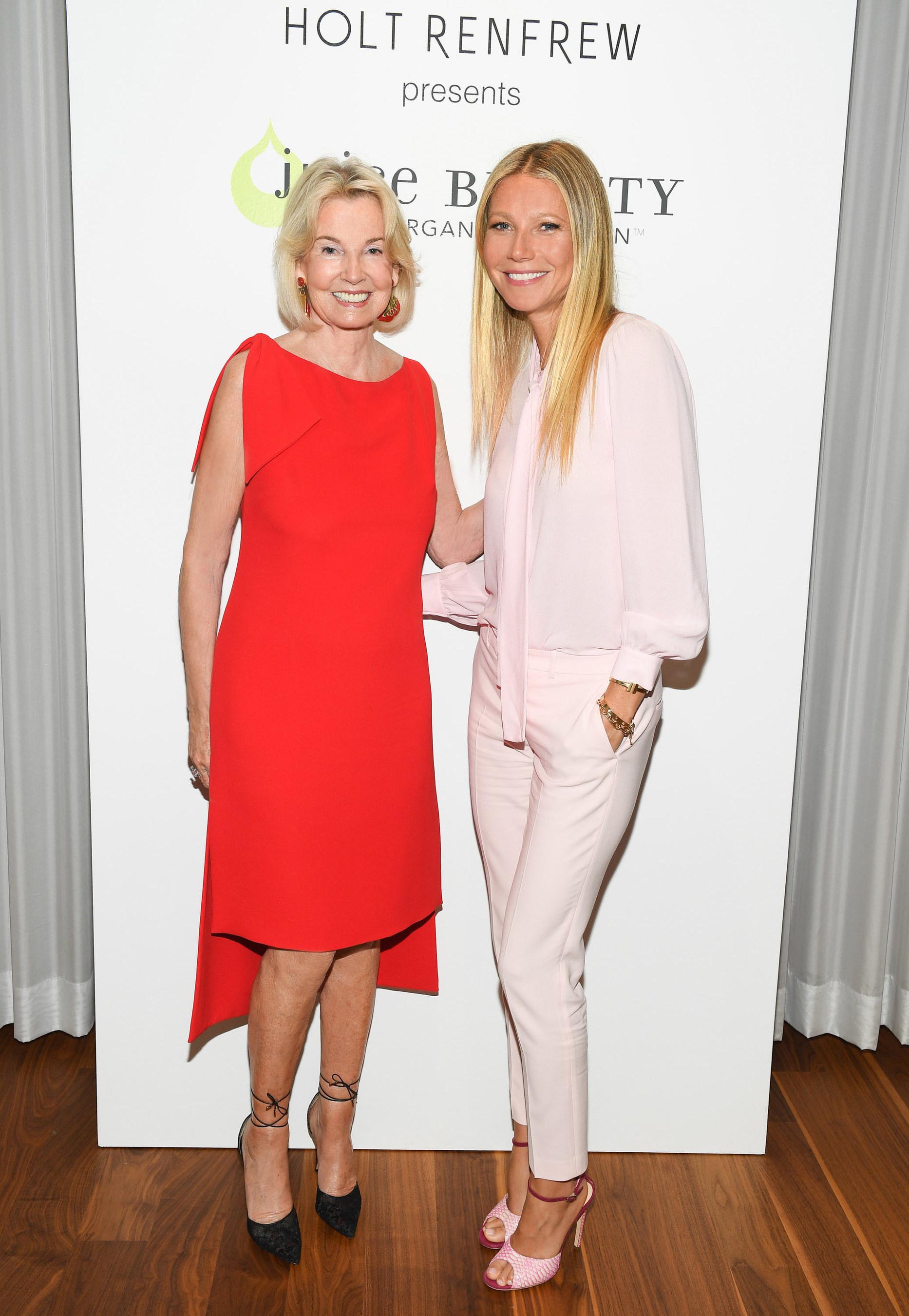 The Hon. Hilary M. Weston and Gwyneth Paltrow