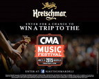 Kretschmar(R) Premium Deli Meats Partners with the CMA Music Festival, Consumer Sweepstakes will send Grand-Prize Winners To The 2015 CMA Music Festival in Nashville