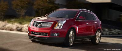 Joliet, Ill. drivers will enjoy the loaded interior and superior performance of a 2015 Cadillac SRX from Bill Jacobs Mazda. (PRNewsFoto/Bill Jacobs Auto Group)