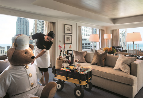 Guaranteed Room Upgrade at The Peninsula Chicago. (PRNewsFoto/The Peninsula Chicago)