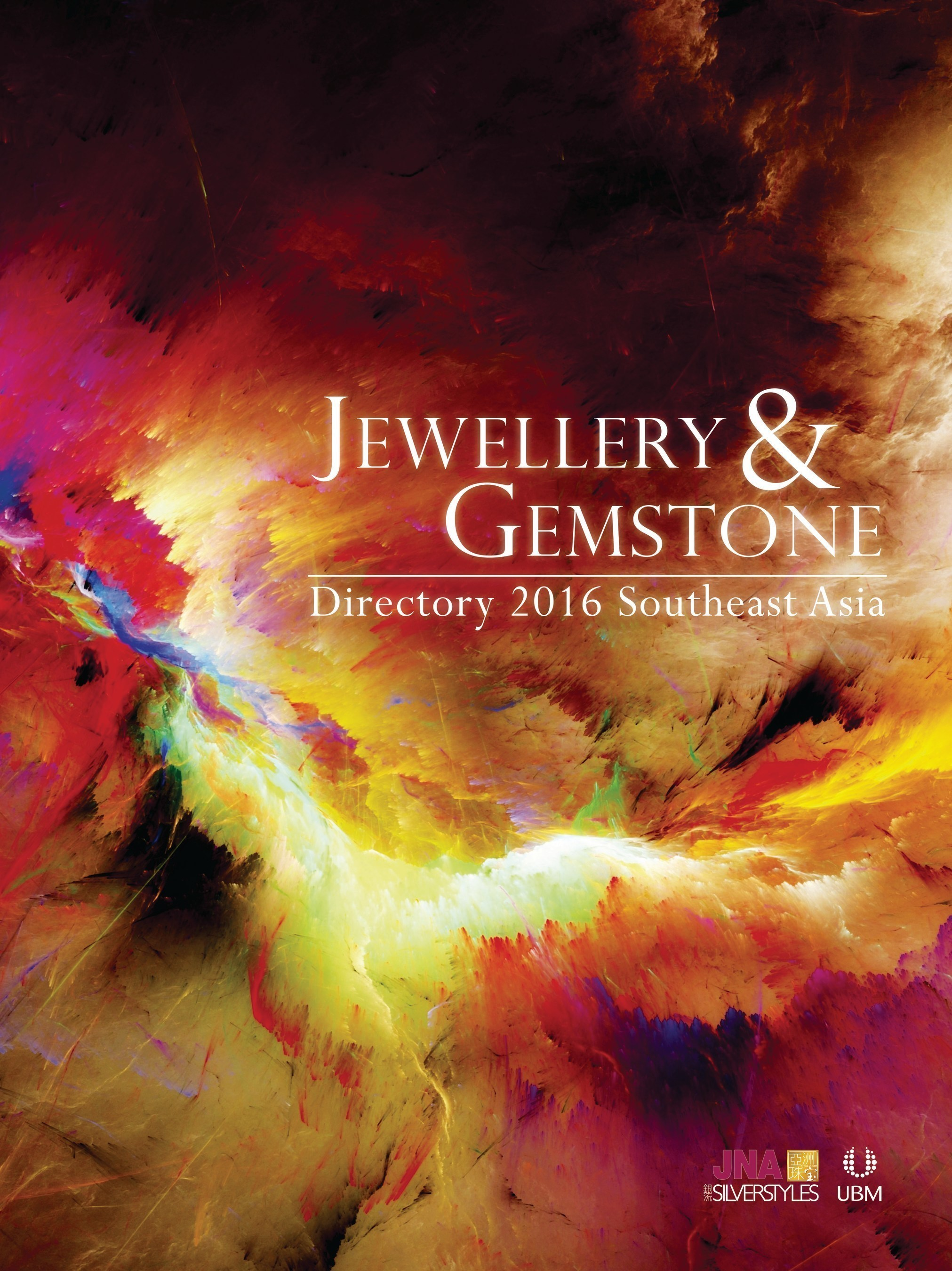 Cover image of the Jewellery & Gemstone Directory 2016 - Southeast Asia edition