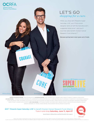 """QVC Presents Super Saturday LIVE"" Public Service Announcement featuring Melissa Rivers & Brad Goreski"