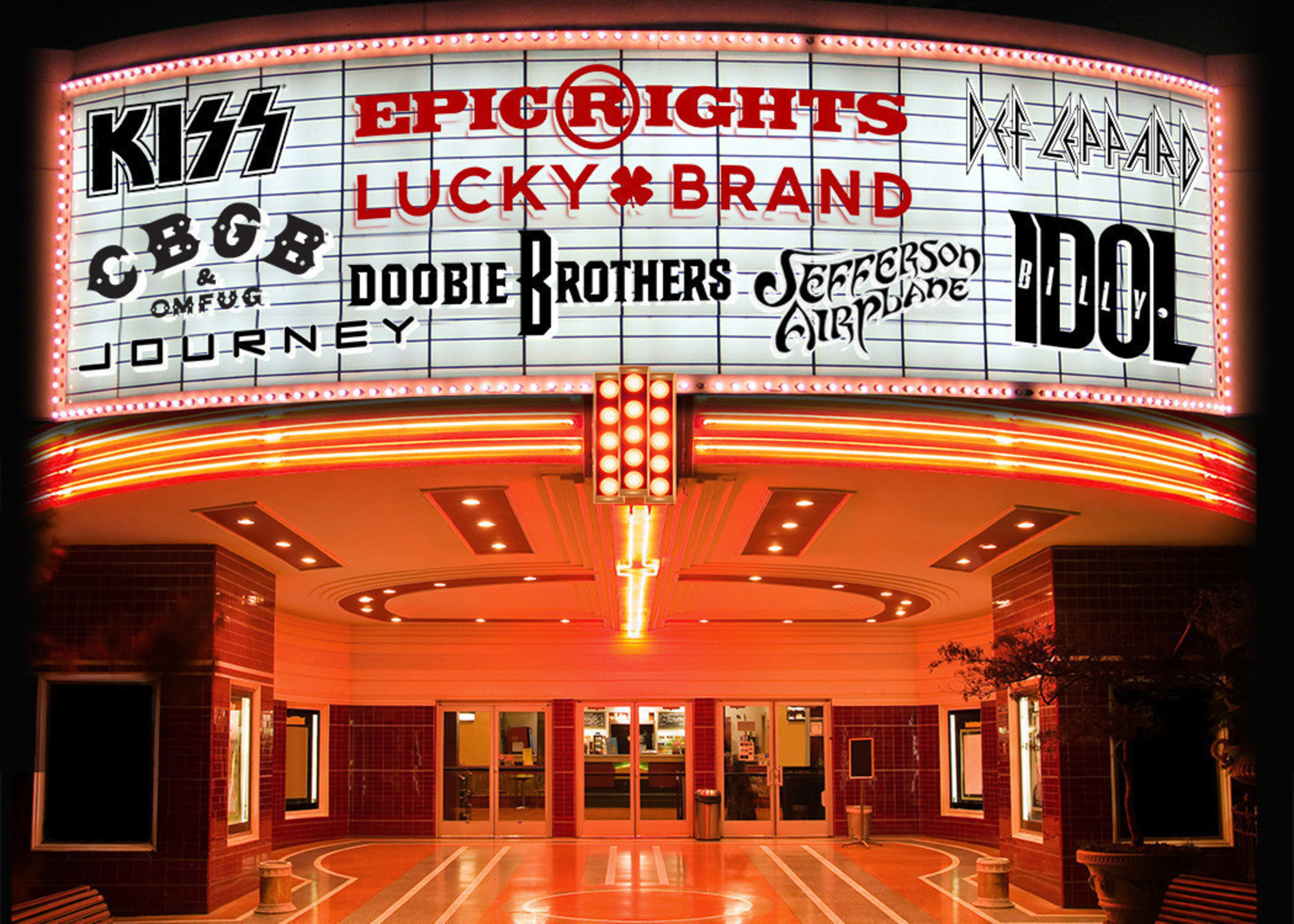 Lucky Brand Partners With Epic Rights For National Apparel Program With Top Classic Rock Bands