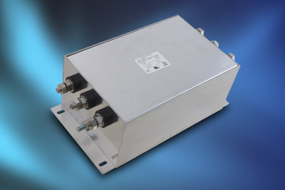Dual-stage, 3-phase Delta Power Line Filter for High Power Applications from Astrodyne TDI