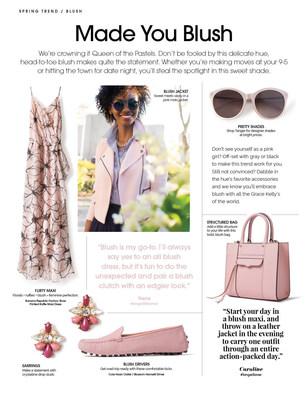 TangerStyle Magazine - Made You Blush