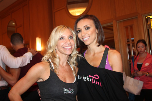 Photo by Becky Fink; From Left to Right: Tami Conway and Giuliana Rancic. (PRNewsFoto/The Dailey Method) ...