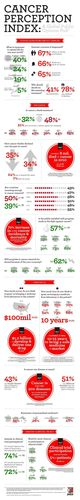 PACE Cancer Perception Index Infographic (PRNewsFoto/Lilly Oncology)