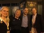 Attendees at the Invictus Games / Veterans Advantage announcement include: From left, Lin Higgins, COO of Veterans Advantage, Israel Del Toro Jr., Air Force master sergeant and Invictus Games competitor, Robert McDonald, Secretary of Veterans Affairs, and Scott Higgins, CEO of Veterans Advantage.