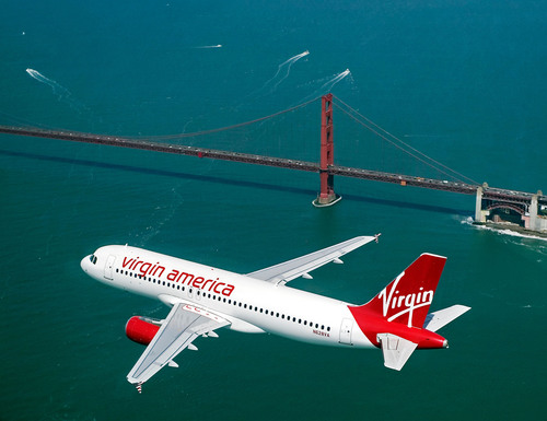 Virgin America Wins Top U.S. Airline In Conde Nast Traveler's 2012 Readers' Choice Awards.  (PRNewsFoto/Virgin America)