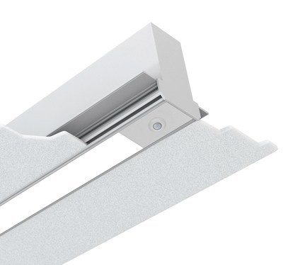 """Enlighted Sensors, the most advanced digital sensors ever designed, are available with Amerlux's Gruv 1.5"""" recessed LED linear luminaires"""