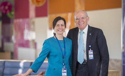 Children's Hospital Colorado is honored to announce the arrival of Alberto Pena, MD, (right) and Andrea Bischoff, MD, (left) as director and assistant director, respectively, of the Children's Hospital Colorado International Center for Colorectal Care.