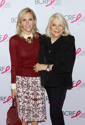 Tory Burch and her mother Reva Robinson