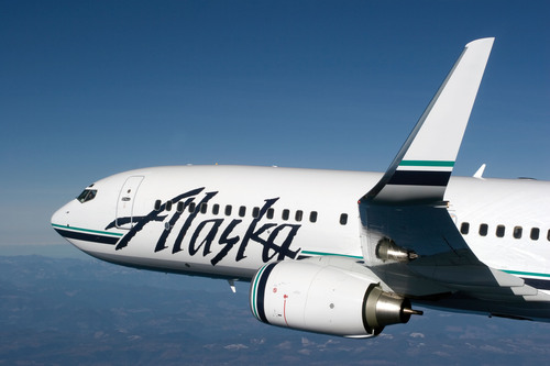 The new Salt Lake City routes will be operated with Alaska Airlines Boeing 737 and SkyWest Airlines' CRJ-700 regional jets. (PRNewsFoto/Alaska Airlines)