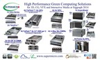 Supermicro(R) High Performance Green Computing Solutions at Siggraph 2014 (PRNewsFoto/Super Micro Computer, Inc.)