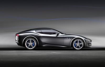 Maserati Alfieri concept. (PRNewsFoto/Maserati North America)
