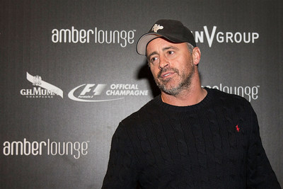 Matt LeBlanc celebrates F1 with G.H.MUMM during the Original F1 After-Party at Amber Lounge on Saturday, November 1