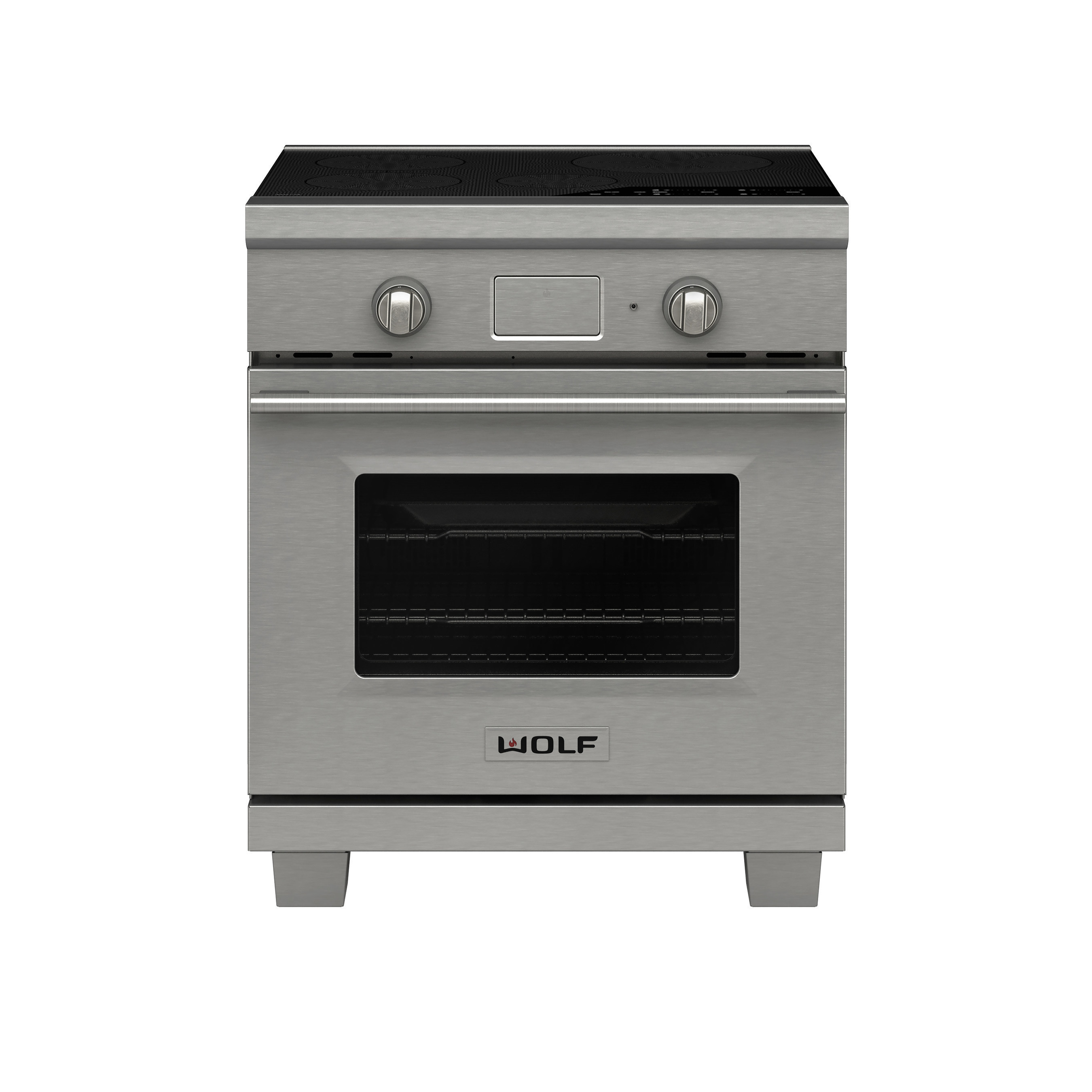 "New Wolf 30"" transitional induction range"