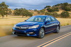 Honda Launches 2017 Accord Hybrid: America's Most Sophisticated, Powerful and Fuel Efficient Midsize Hybrid Sedan