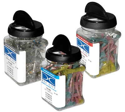 Assorted Wire Terminal Kits at Del City for Electrical Projects