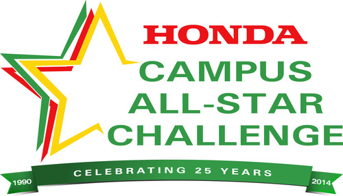 25th Anniversary 2014 Honda Campus All-Star Challenge. (PRNewsFoto/American Honda Motor Co., Inc.) ...