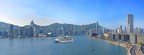 Panoramic view of a cruise ship in Hong Kong on Victoria Harbour. Credit Hong Kong Tourism Board (HKTB).