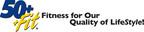 50+/+Fit Logo and Tagline.  (PRNewsFoto/Merz Ventures, LLC)