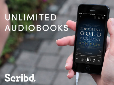 Unlimited Audiobooks on Scribd