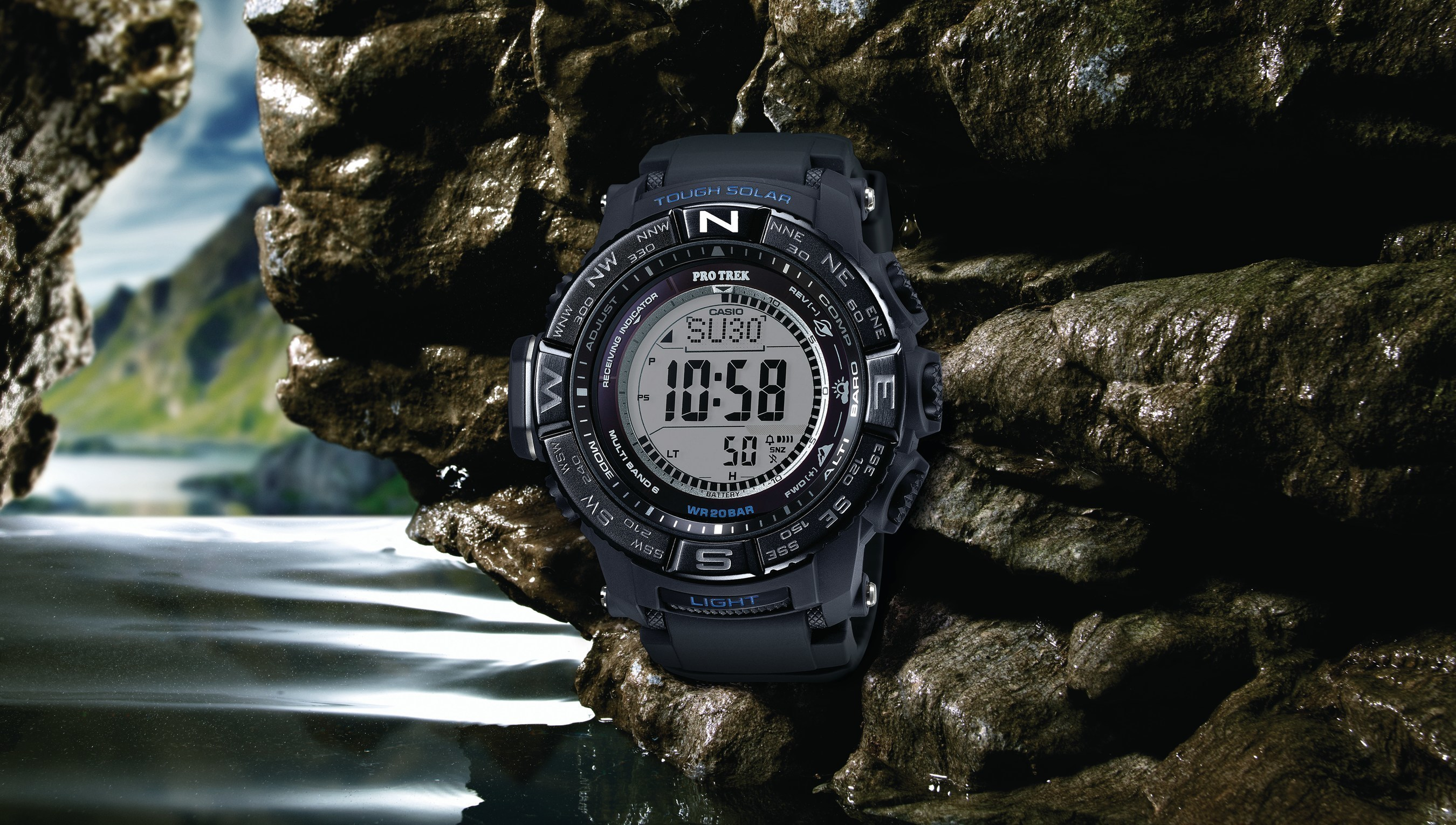 NEW CASIO PRO TREK TIMEPIECE OFFERS ENHANCED FEATURES FOR OUTDOOR ENTHUSIASTS