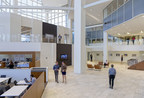 500 Plaza Drive lobby after renovation