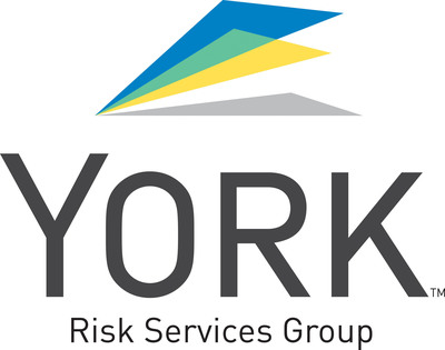 York Risk Services Group Logo.  (PRNewsFoto/York Risk Services Group, Inc.)