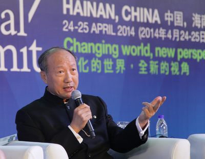 HNA Group Chairman Chen Feng Gives Speech at The 2014 World Travel & Tourism Council
