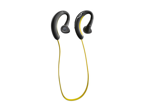 The Jabra SPORT is the first wireless headset to handle calls and music while exercising.  (PRNewsFoto/Jabra)