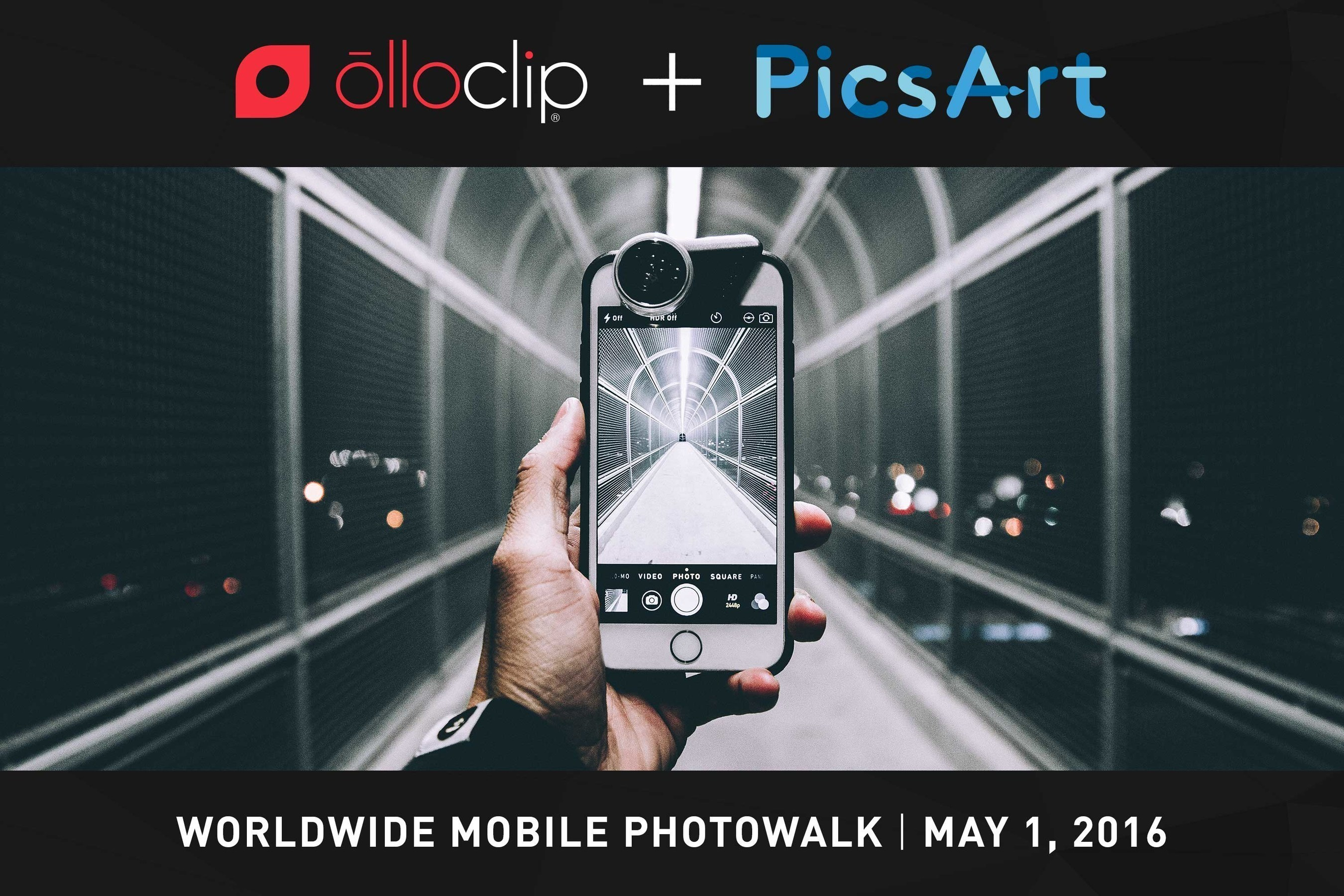 olloclip and PicsArt to Host First, Worldwide Mobile Photo Walk
