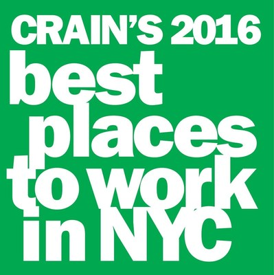 BuzzBack Market Research among 2016 Best Places to Work in New York City. Companies from across all five boroughs participated in the two-part survey process to determine the Best Places to Work..