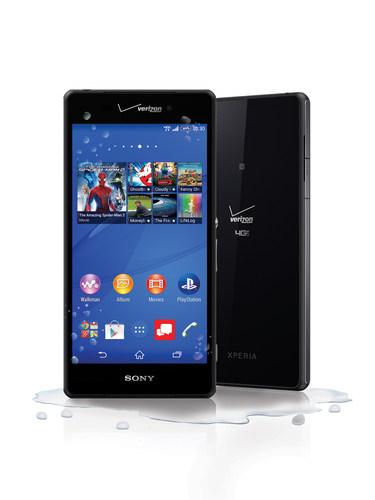 Xperia Z3v (PRNewsFoto/Sony Mobile Communications)