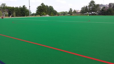 Ongoing Installation of AstroTurf Hockey Surface at Bill Alford Field