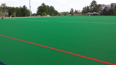 Ongoing Installation of AstroTurf Hockey Surface at Bill Alford Field (PRNewsFoto/AstroTurf)
