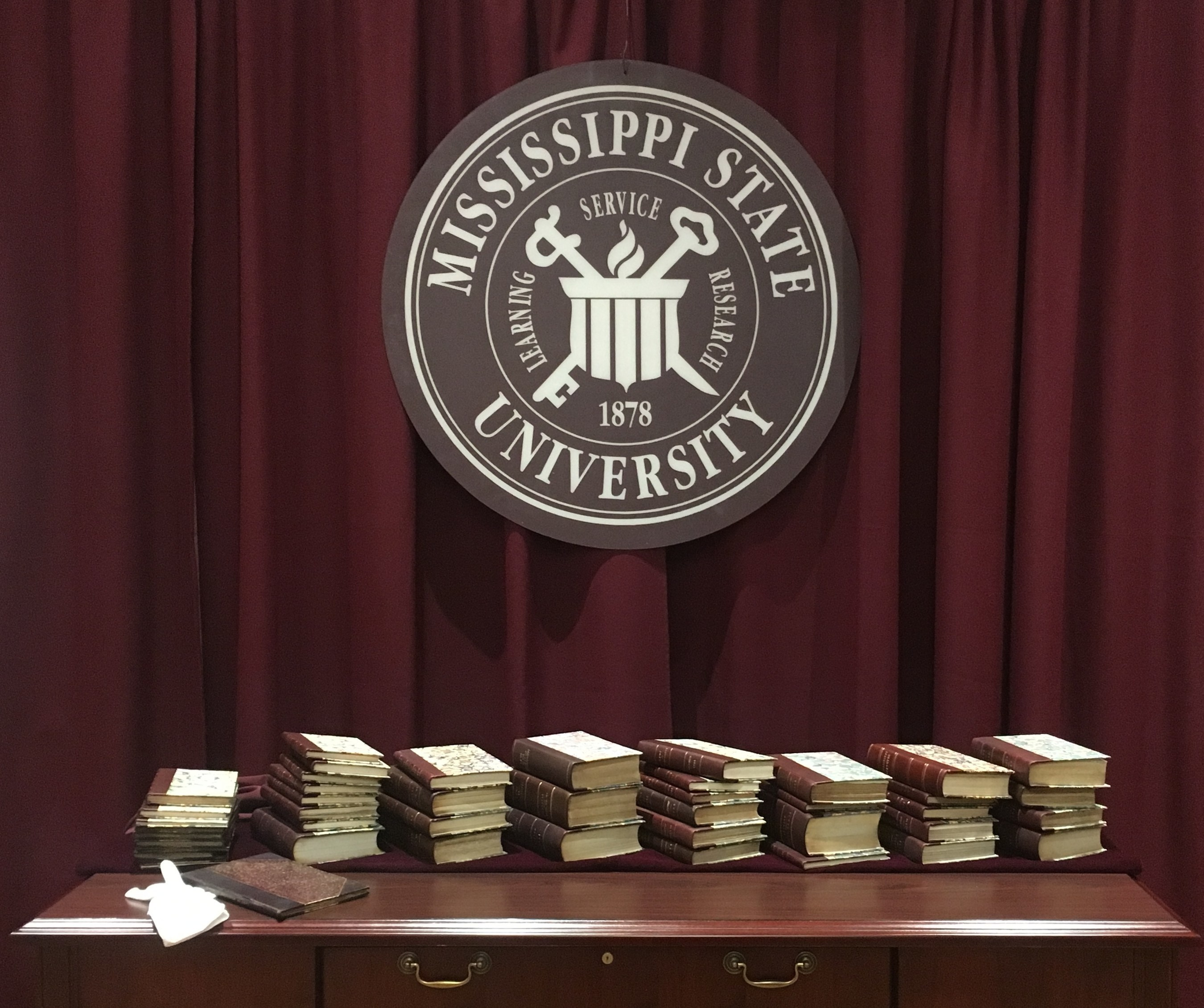 MaxxSouth Broadband Donates Valuable Book Collection of Early Mississippi Laws to Mississippi State University