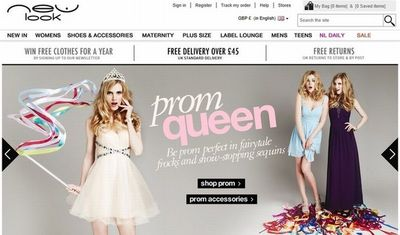 New Look Now Stocks Dozens of Prom Dress Styles