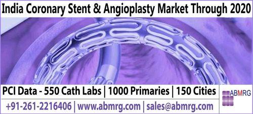 India Coronary Stent Market and Angioplasty Market to be Tripled (PRNewsFoto/ABMRG)