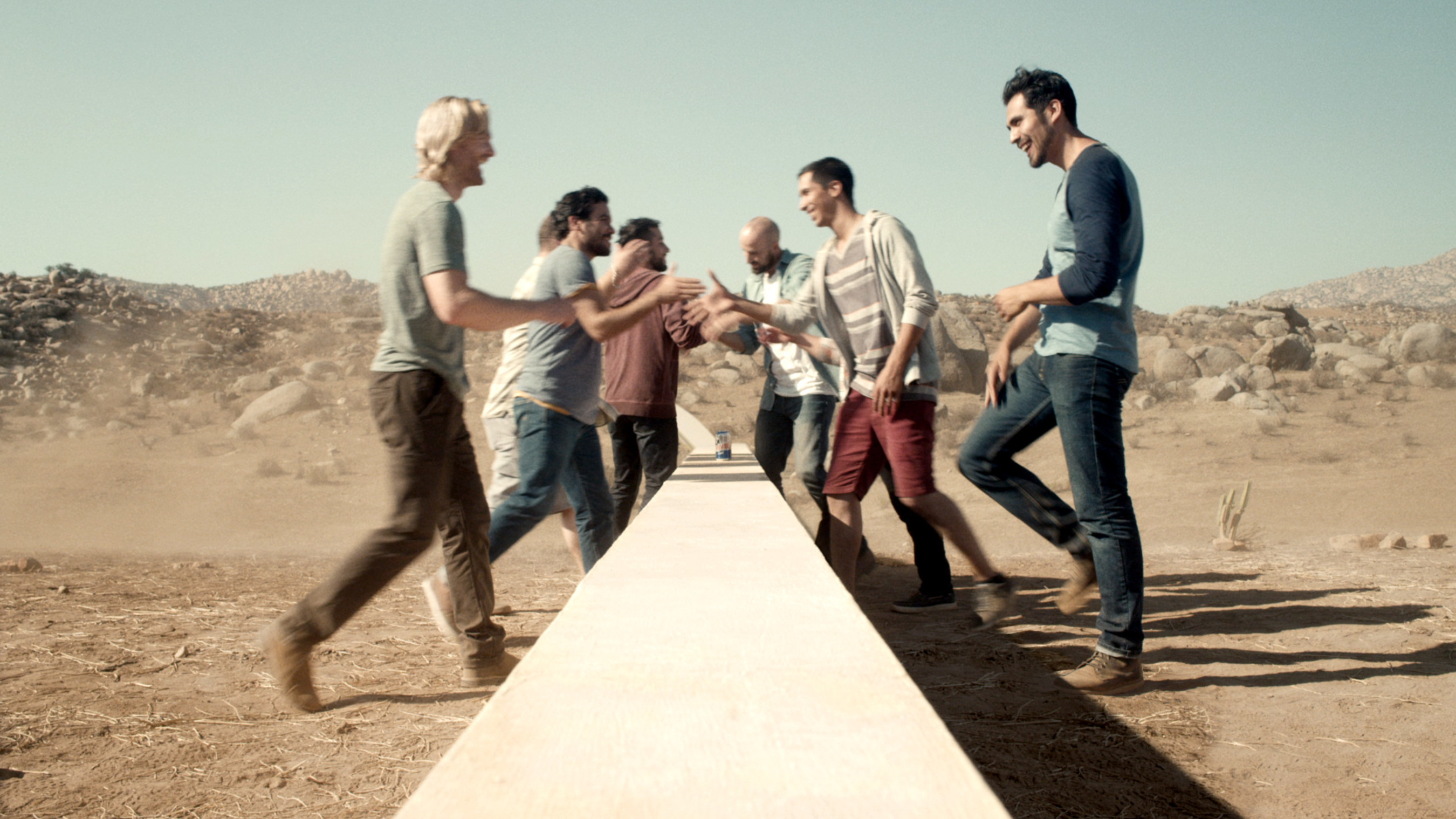 Tecate light builds a wall to unify not divide in latest born bold two groups of young men bi cultural hispanics from the us and mexicans from mozeypictures Choice Image